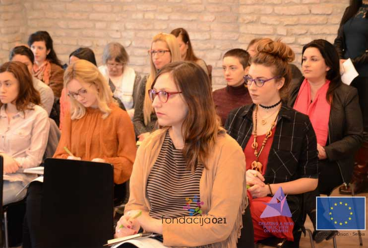 "Održan dvodnevni seminar u okviru projekta ""Creating a New Public View on Women"""